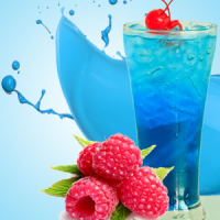 Fragrance Oil - Blue Raspberry Slushie